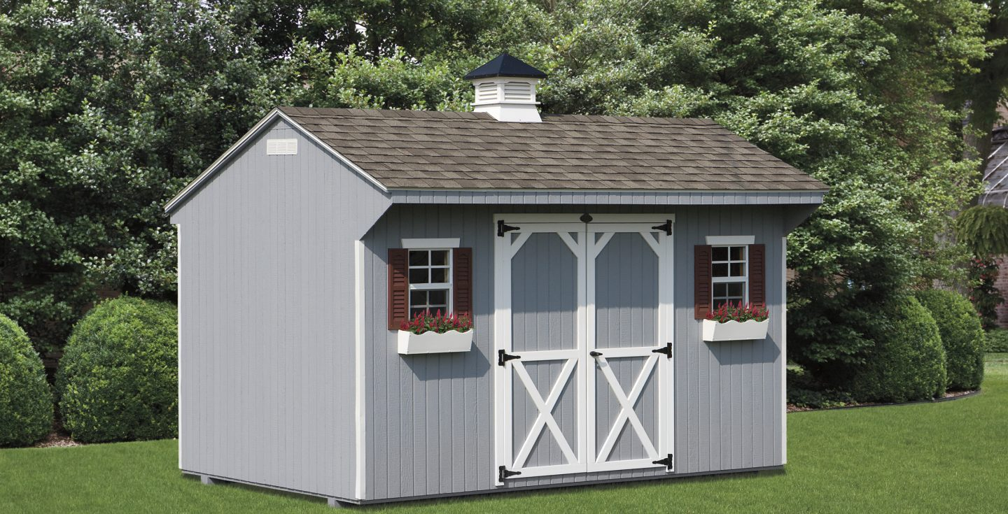 Amish Built Quaker Style Storage Sheds For Sale Amish