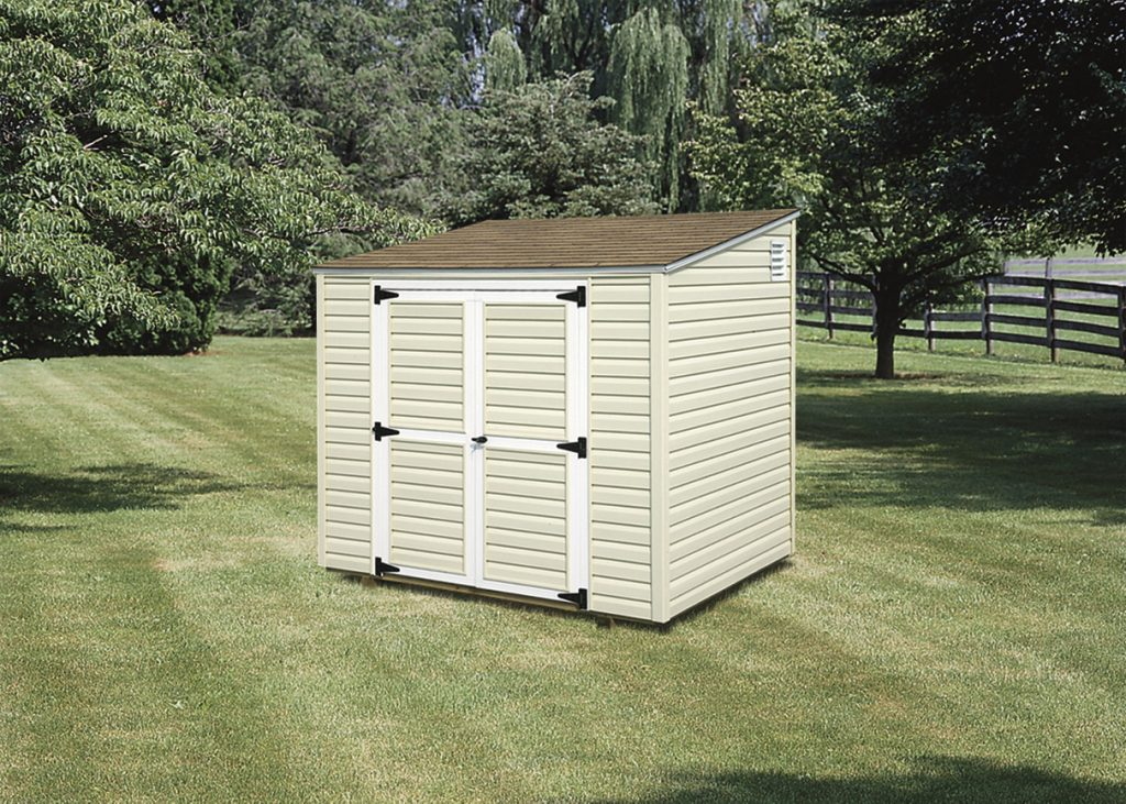 Lean-To Shed – Wood