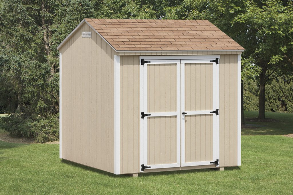 Economy A-Frame Shed – Wood