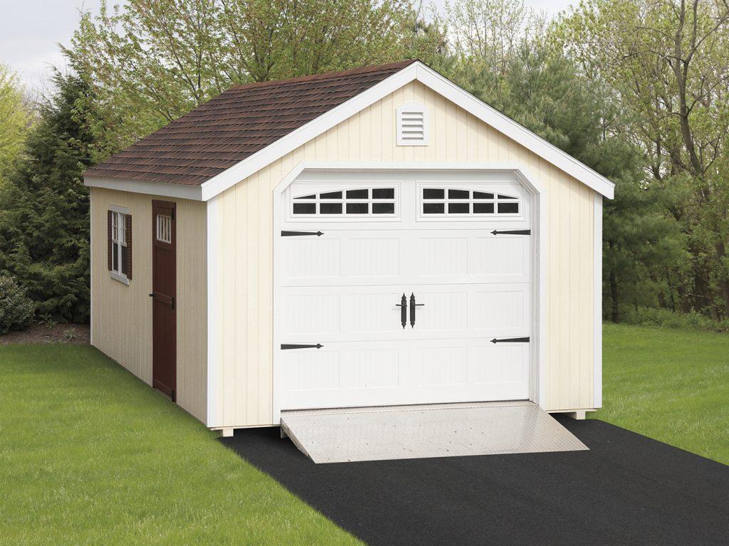 A-Frame Garage – Wood