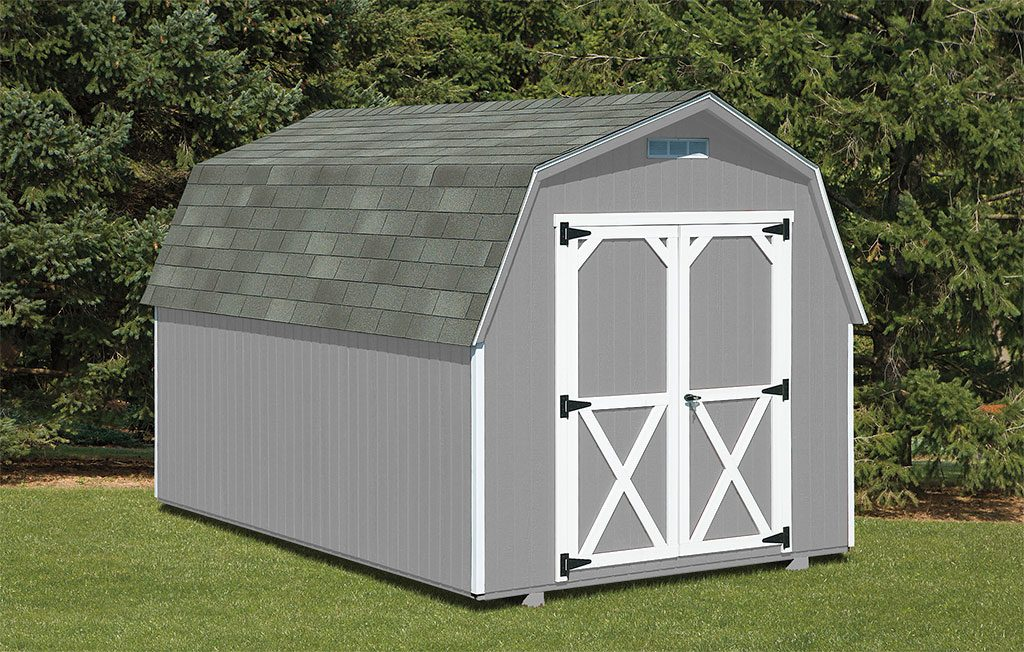 Heavy Duty Mini Barn – Wood