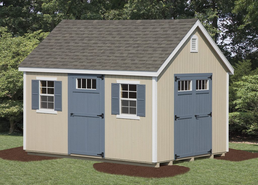 New England Shed – Wood