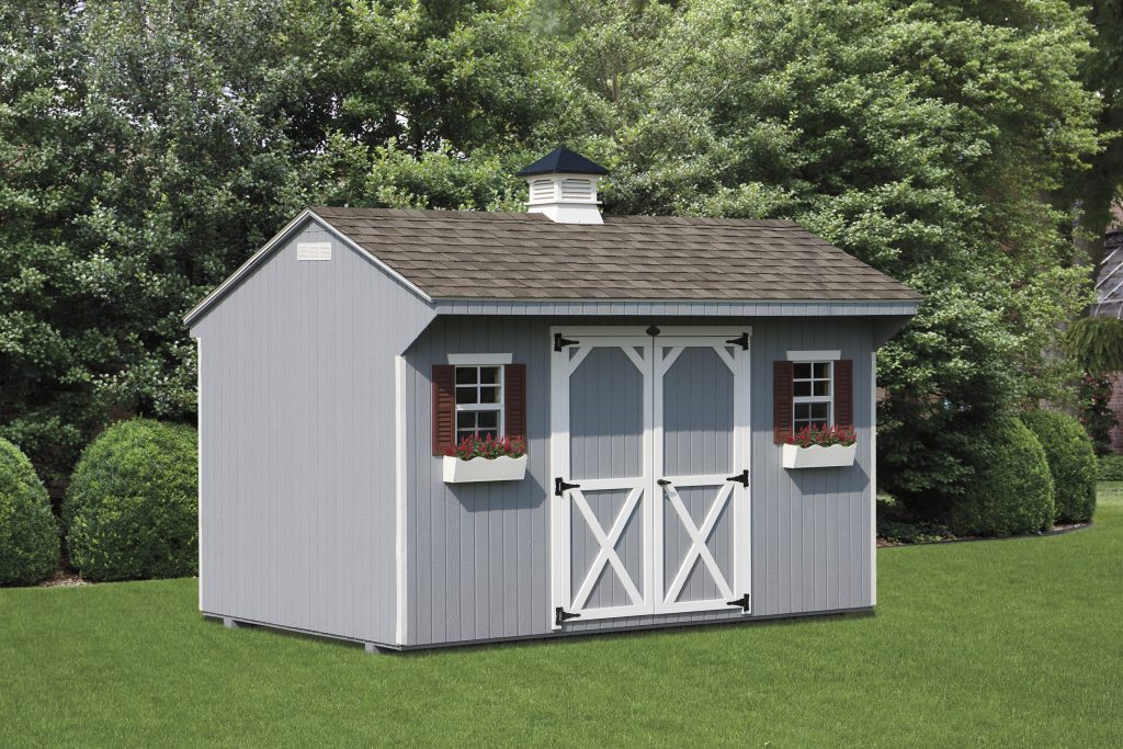 Quaker Shed – Wood