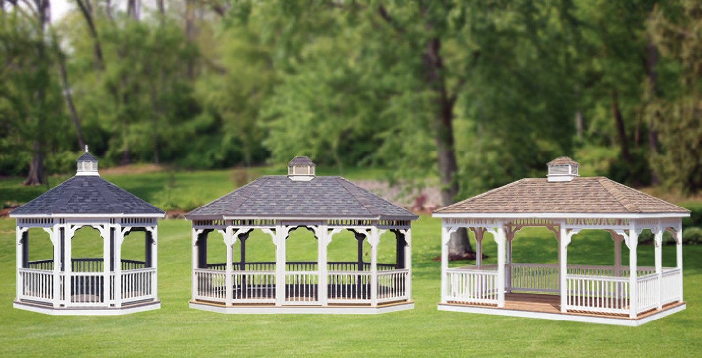 3d rendered photos of gazebos