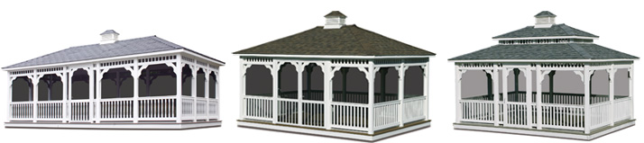 rectangle gazebos
